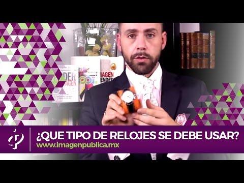 ¿Qué tipo de relojes se debe usar - Alvaro Gordoa - Colegio de Imagen Pública