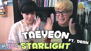 TAEYEON (태연) - STARLIGHT (FEAT. DEAN) ★ MV REACTION