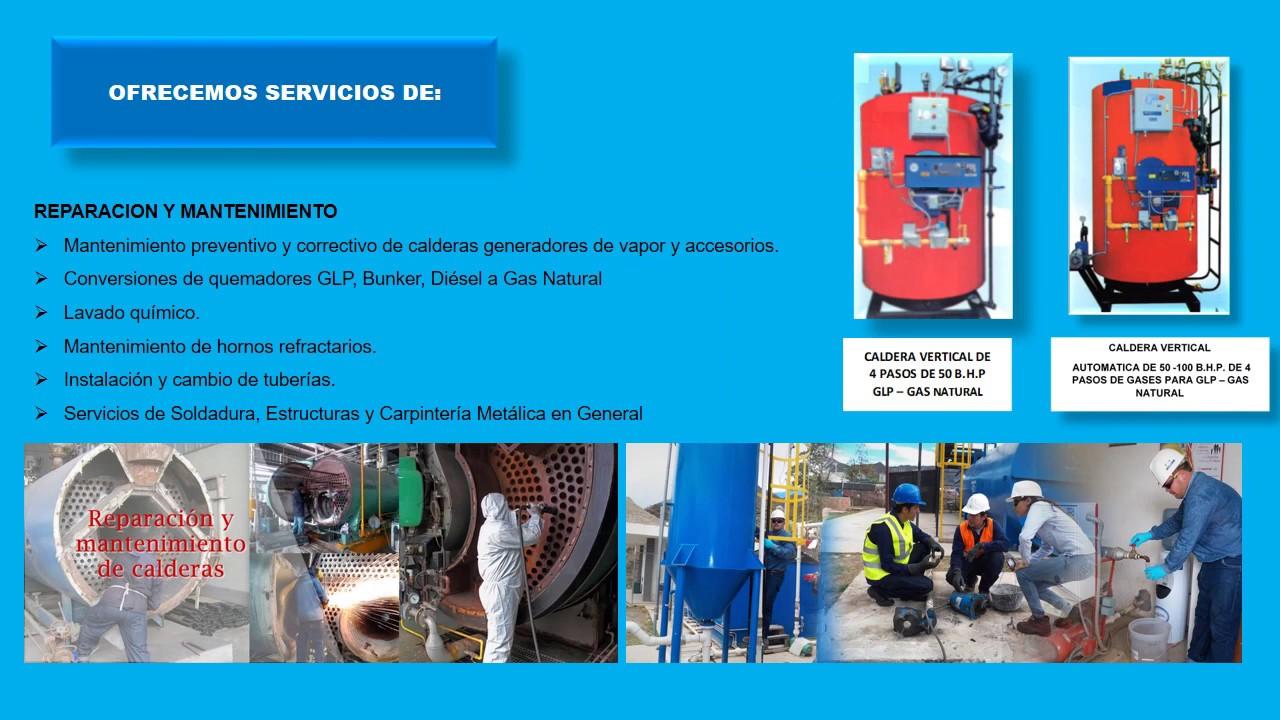 Mantenimiento y reparaci n de calderas industriales youtube for Servicio de calderas