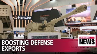 S. Korea's defense minister attends arms expo in UAE, holds talks with counterparts