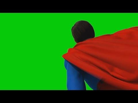 Green Screen Superman