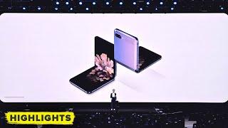 Samsung's reveals Galaxy Z Flip foldable phone