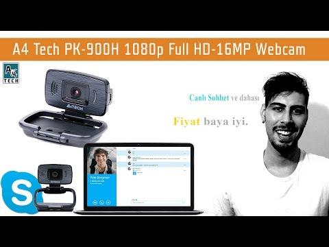 A4 Tech PK-900H 1080p Full HD-16MP Webcam İnceleme