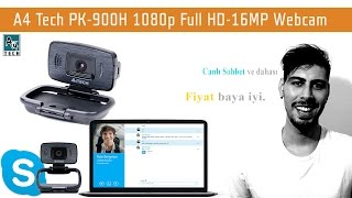 A4 Tech PK-900H 1080p Full HD-16MP Webcam İnceleme