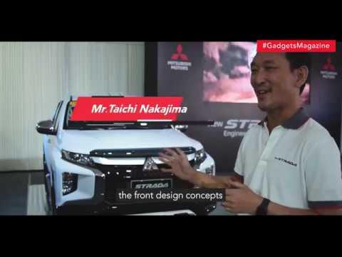 The all-new 2019 Mitsubishi Strada