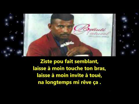 Eric Mahabo - Beauté naturel - Paroles