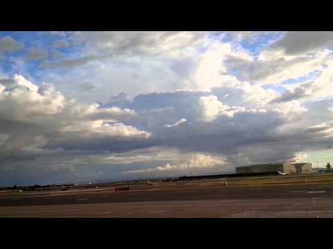 2/28/15 sun & the rain @ OAK Airport