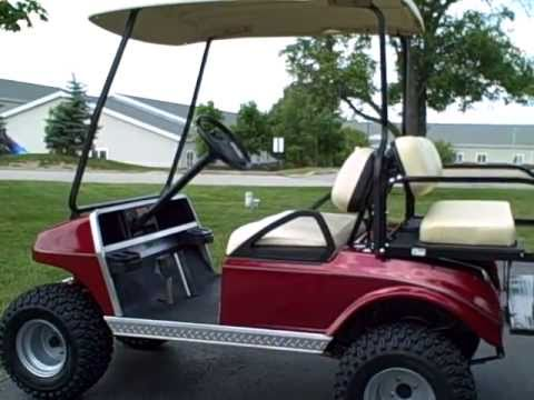 2004 club car ds gas golf cart many upgrades