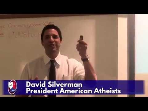 """Firebrand Atheism"" - David Silverman - Lecture Series - July 6th, 2016"