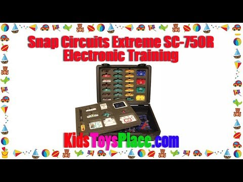 review best price snap circuits extreme sc 750r student electronics training program rh youtube com