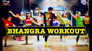Zumba Zin 85 || Download Remix || Easy Bhangra Workout || The Landers feat. Gurlez Akhtar ||