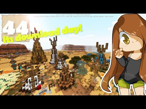 WORLD TOUR W/DOWNLOAD!!  - Survival Let's Play Ep. 44 - Minecraft (Bedrock)