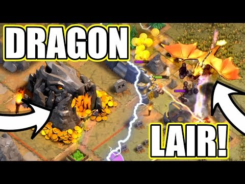 THE DRAGONS LAIR IS HERE IN CLASH OF CLANS!