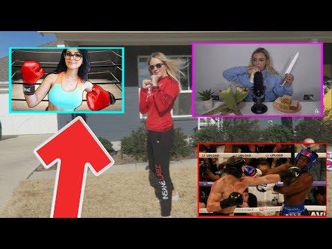 My KSI vs LOGAN PAUL Boxing Undercard vs Millie T Update - Why SSSniperwolf Won't Fight Me