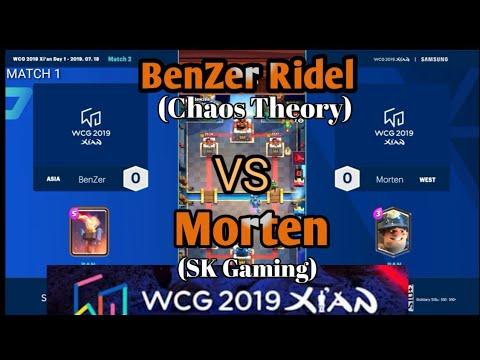 Repeat BenZer Ridel VS Morten   WCG 2019 XIAN   Clash Royale