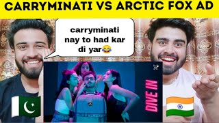 Carryminati Vs Arctic Fox Reaction By|Pakistani Bros Reactions|