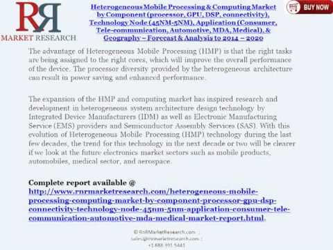Heterogeneous Mobile Processing & Computing Industry Analysis to 2014 & 2020 Forecasts