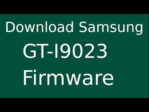 How To Download Samsung Nexus S GT-I9023 Stock Firmware (Flash File) For Update Android Device
