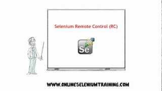 13. Selenium Remote Control brief overview - [Online Selenium Training]