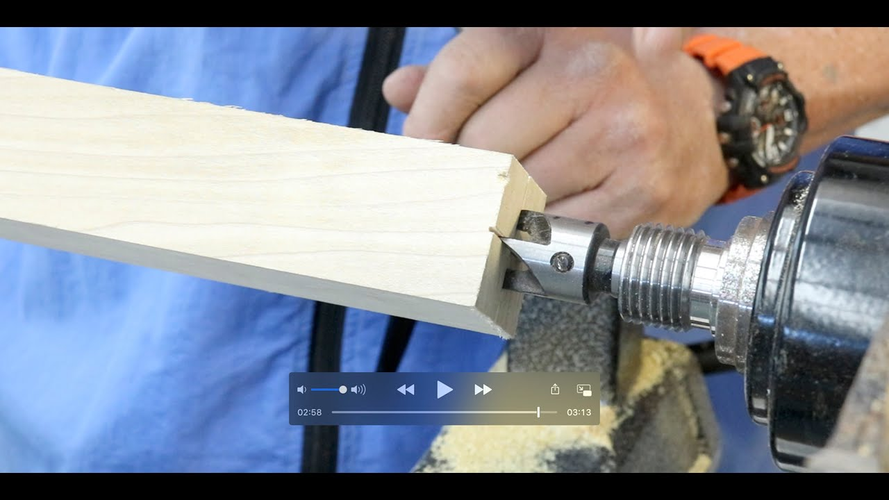 Download Using Drive Centers on the Wood Lathe     with Sam Angelo