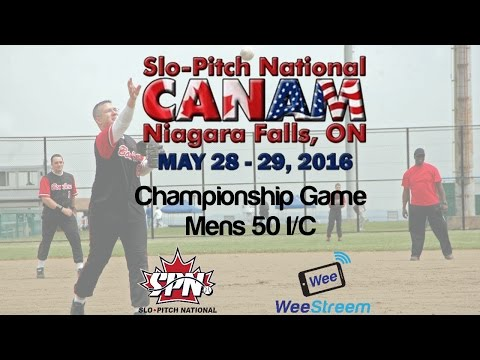 2016 Slo-Pitch National CanAm Tournament Championship