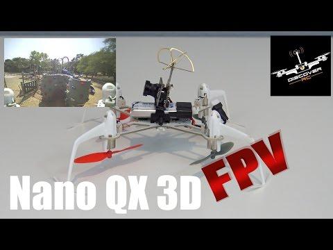 Дрон Blade Nano QX 3D за въздушна акробатика 11