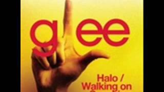 Glee-- Halo/Walking On Sunshine