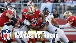 Ravens vs. 49ers | Week 6 Highlights | NFL