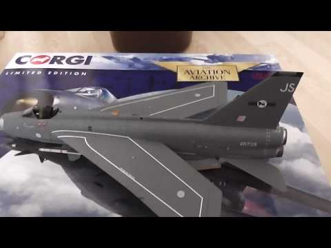 Corgi English Electric Lightning 1/48th scale review.