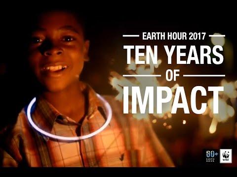 Earth Hour 2017: Ten Years of Impact