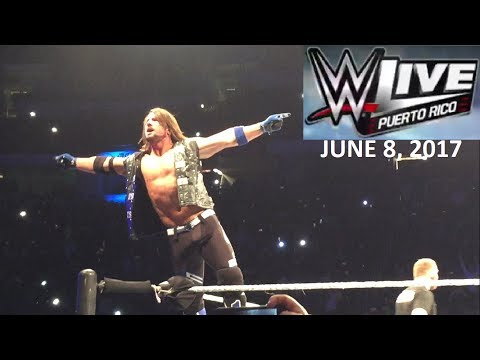 Day in the Life: WWE LIVE in Puerto Rico 2017