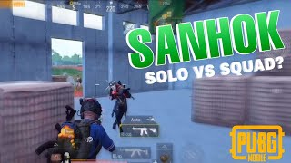 Perfect solo squad gameplay in Sanhok bootcamp | PUBG Mobile