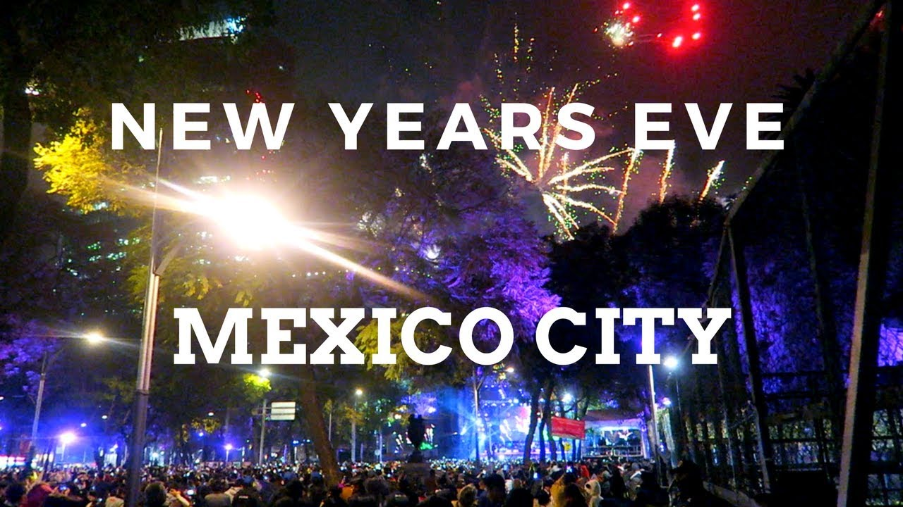 New Years Eve in Mexico City    YouTube  travelerstalk  cheerstotravels  travelingcouple