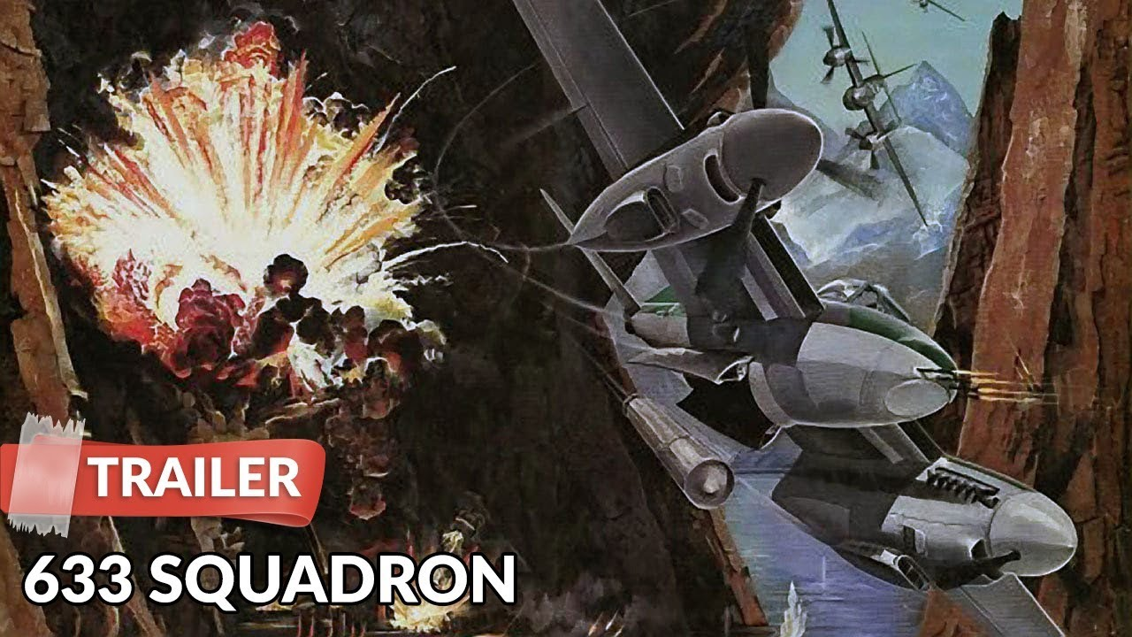 War Movie : 633 Squadron (1964)