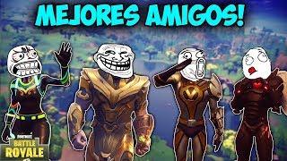 NOS HACEMOS AMIGOS DE THANOS! - MOMENTOS DIVERTIDOS (Funny Moments) | FORTNITE - PACO TORREAR