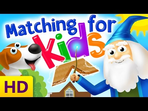 Matching Games for Kids | Developing logic skills for toddlers | Interactive math for kids