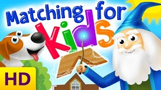 Matching & Logic Games For Kids | Developing Logic Skills For Preschool | Kids Academy