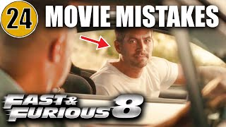 24 Mistakes of THE FATE OF THE FURIOUS You Didn