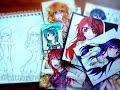 Manga Anime Drawings & Sketchbooks Update 2014