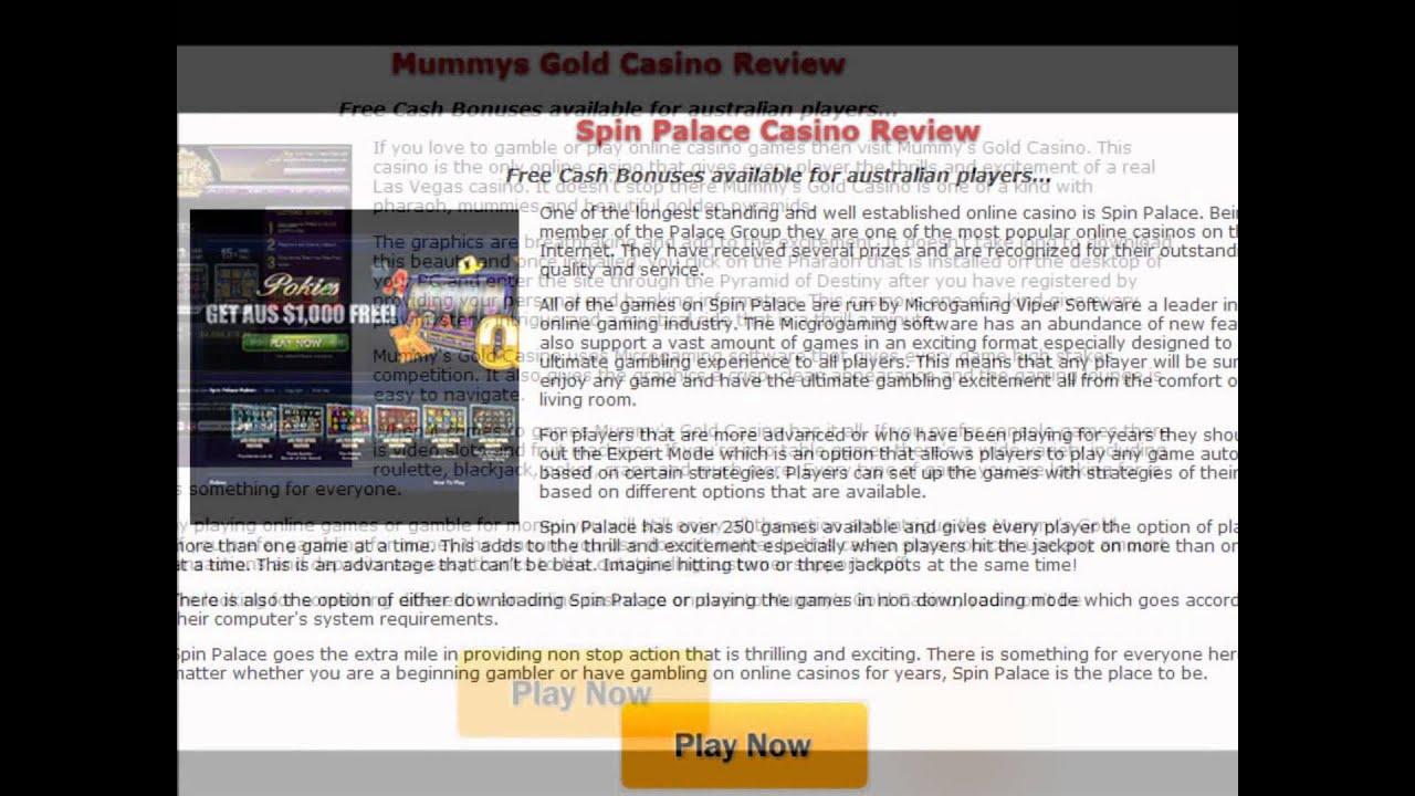 Online Casino Australia Reviews