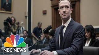 Mark Zuckerberg wordt ondervraagt over zijn nieuwe cryptocurrency, Libra