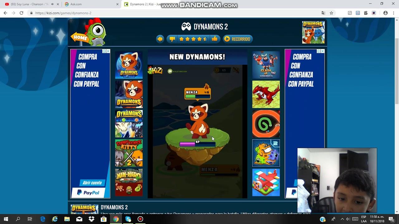 Dinamons Juegos Kizi Youtube