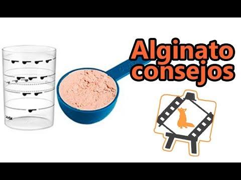 Alginato /Consejos