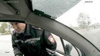 ГАИ  Пост в Павлодаре.