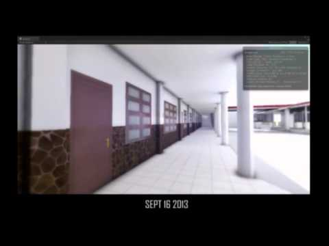solo VR project with unity3D game engine - phase 2