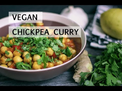 Chickpea Curry | Vegan Fitness