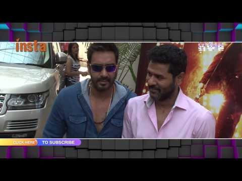 Action Jackson Theme Song Official Launch Video | Action Jackson | Ajay Devgn, Prabhu Dheva
