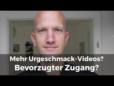 Mehr Urgeschmack Videos und bevorzugter Zugang