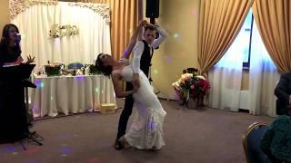 Свадебный танец в сопровождении кавер-группы Манхэттен