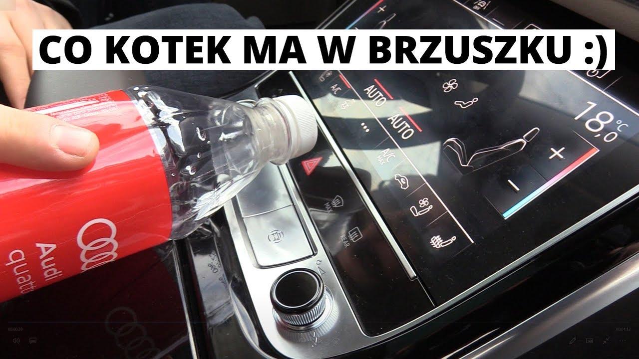 Audi A8 – czy Niemcy poszli o krok za daleko? DOTYKOWE światła awaryjne!!!